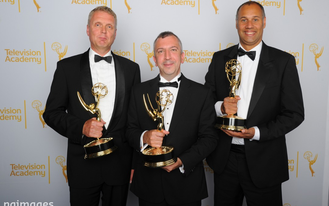 Peter Canning from Redesdale Road won an Emmy in 2014