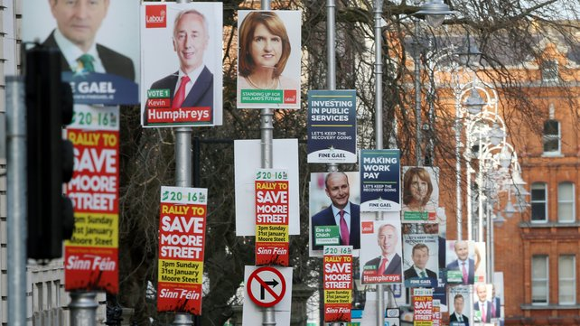 Mount Merrion remains an election poster free zone.