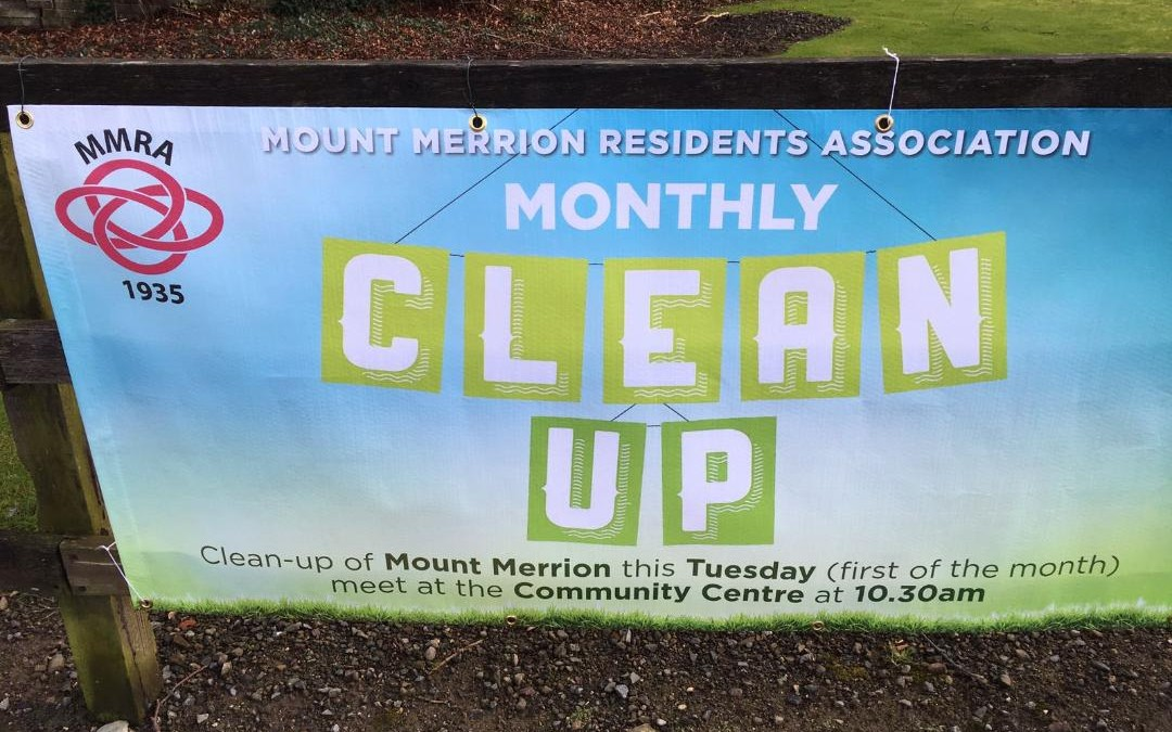 Monthly Litter Clean Up Resumes Tuesday June 2nd at 10.30am