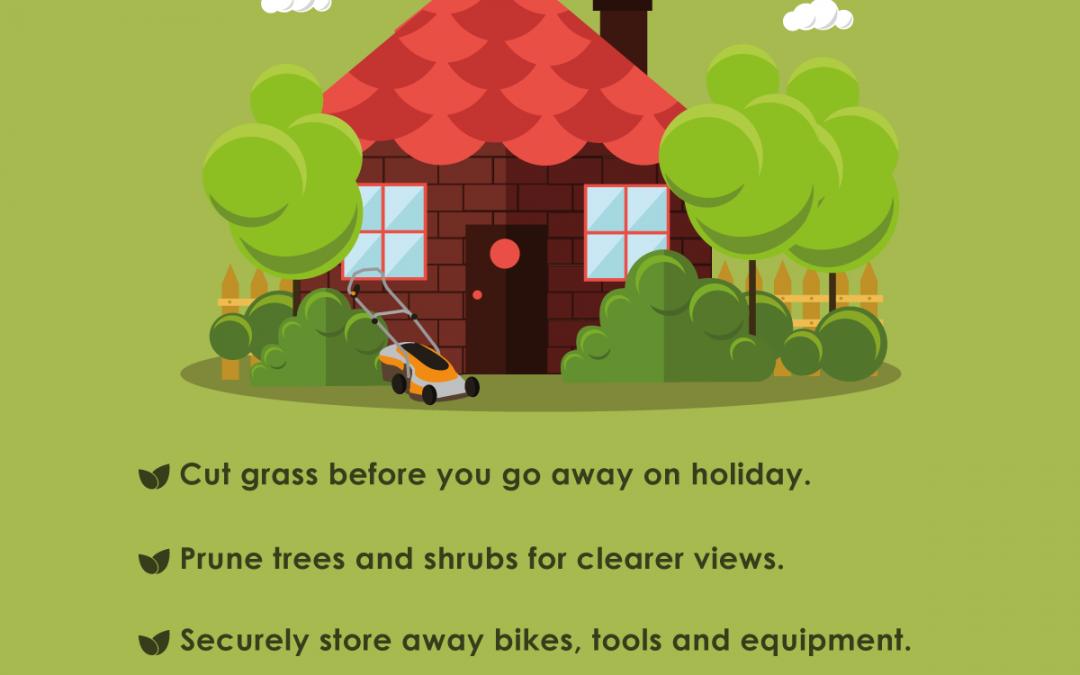 Garda Summertime Safety – Garden/ Landscaping Crime Prevention Advice