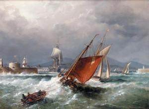 Admiral Richard Brydges Beechey 'Marine Artist'