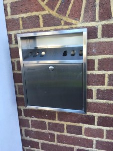 Cigarette Disposal Bins funded by MMRA