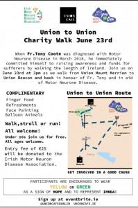 Walk Route IMNDA June 23