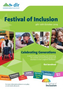 dlr Festival of Inclusion Poster