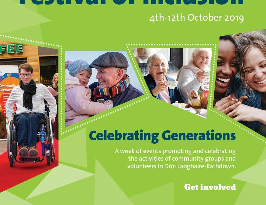 dlr Festival of Inclusion Oct 4th-12th