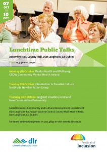 dlr Festival of Inclusion Lunchtime Talks