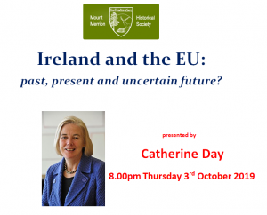 Ireland and the EU Talk by Catherine Day