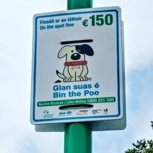 Glan suas é - Bin the Poo