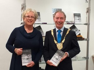 Rosaleen Flanagan at launch of her book Undercurrants