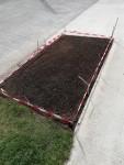 Grass Verge under Repair