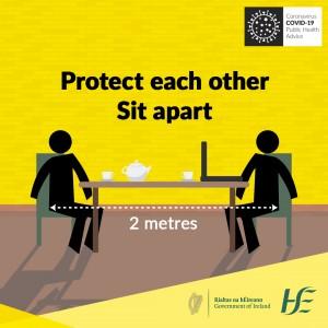 Social Distance Sit Apart