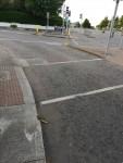Traffic Lights at N11/Trees Road Lower filter road from Stillorgan