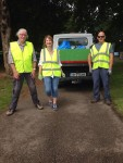 MMRA Cleanup Volunteers with Dlr Parks