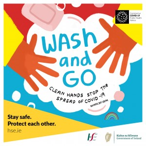 Wash & Go Clean hands Stop the Spread of Covid-19