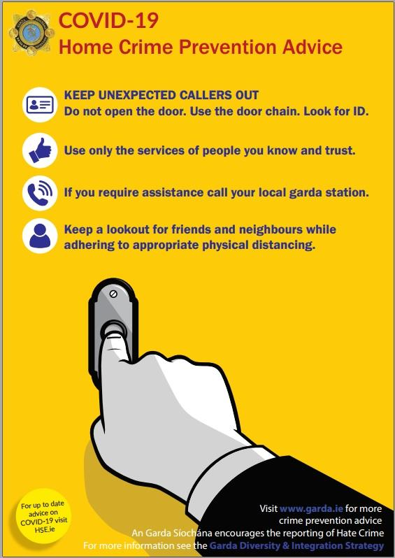Home Crime Prevention - Keep unexpected callers out