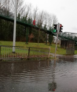 N11 /The Rise junction surface water flooding