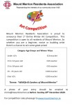 MMRA Winter Art Competition 2020 Posterition 2020 Poster