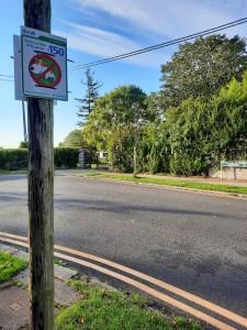 On the Spot Fine €150 Dog Foul Signage Glenabbey Road