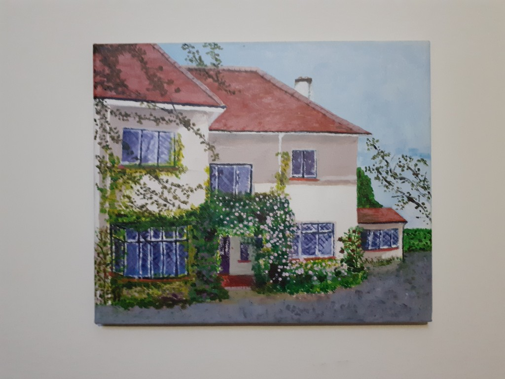 """""""At home in Mount Merrion"""" by Deirdre Hickey"""