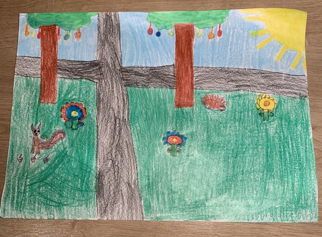 """Spring is in the Air"" by Hope Jordan (age 8)"