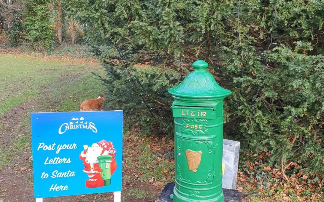 Santa Post Box in Deerpark