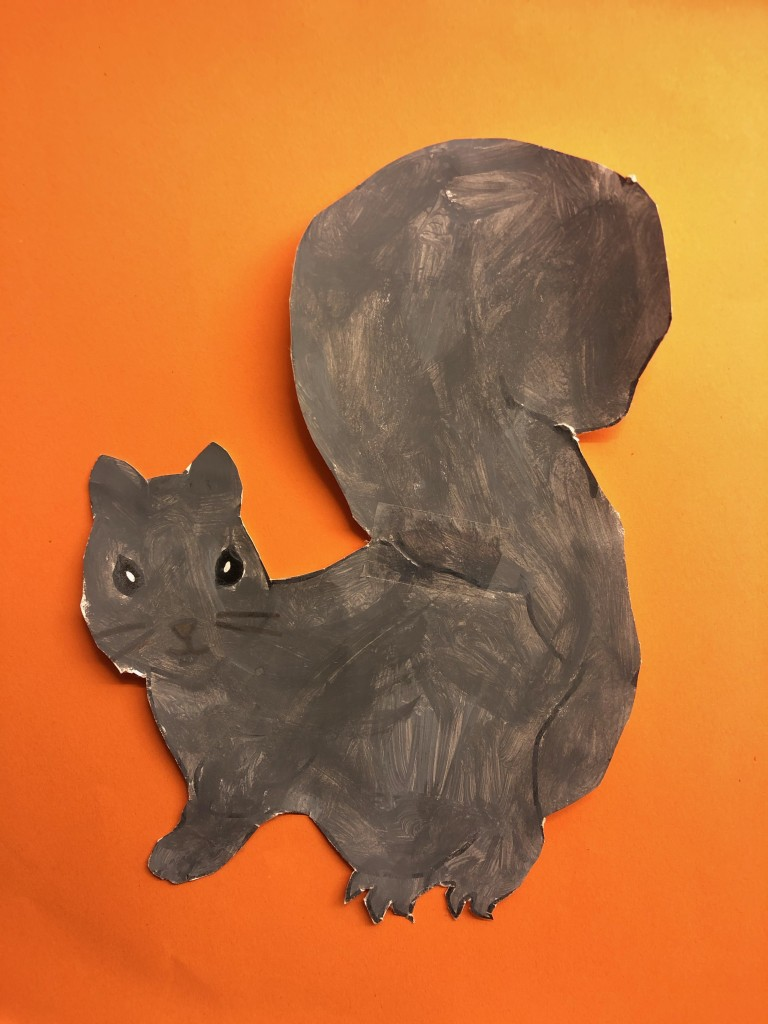 """Our Garden Squirrel"" by Julia Maguire (age 10)"