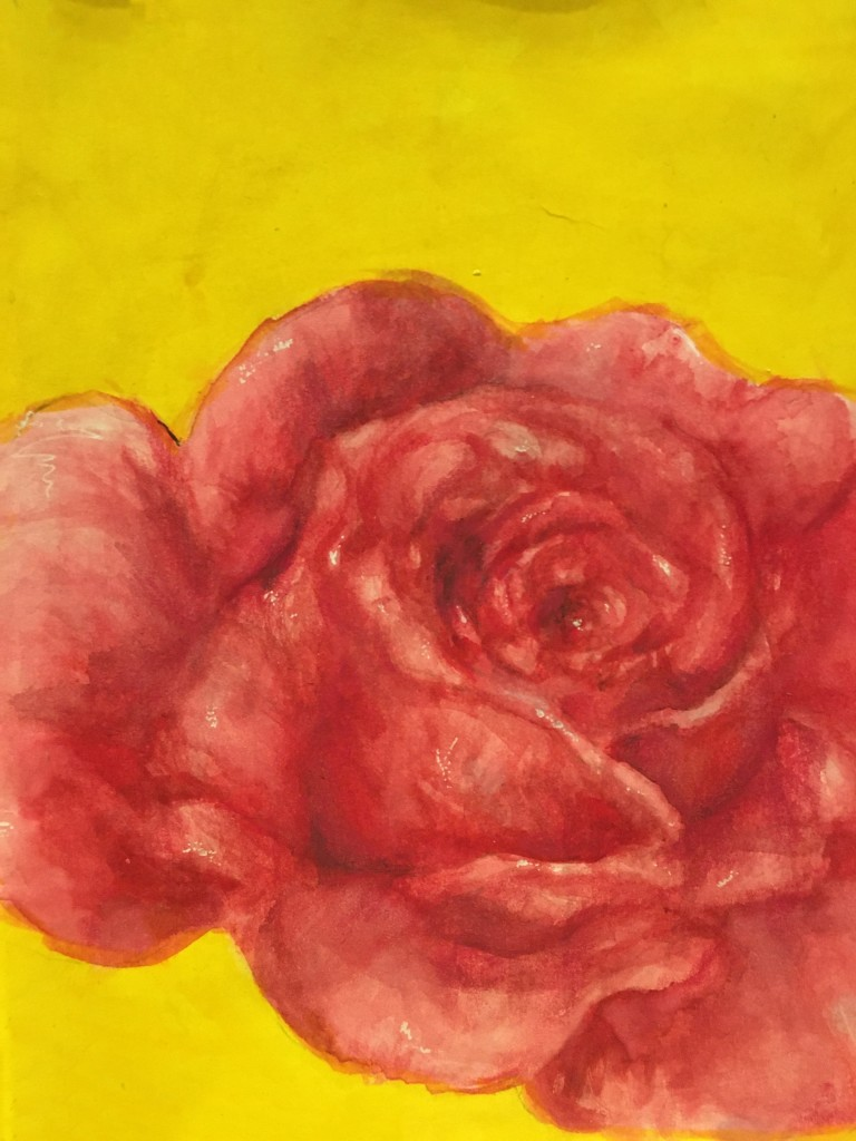 'Rose' by Kathleen O'Kelly (age 16)