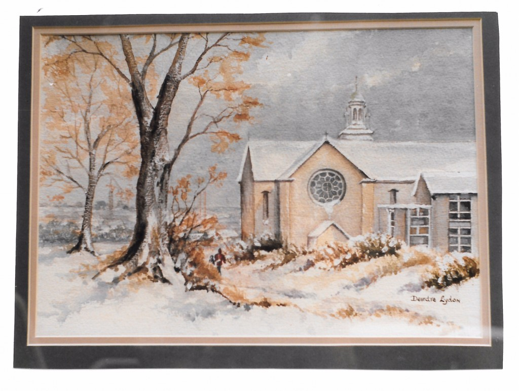 Winter in Mount Merrion Painting by Deirdre Lydon, Sycamore Road