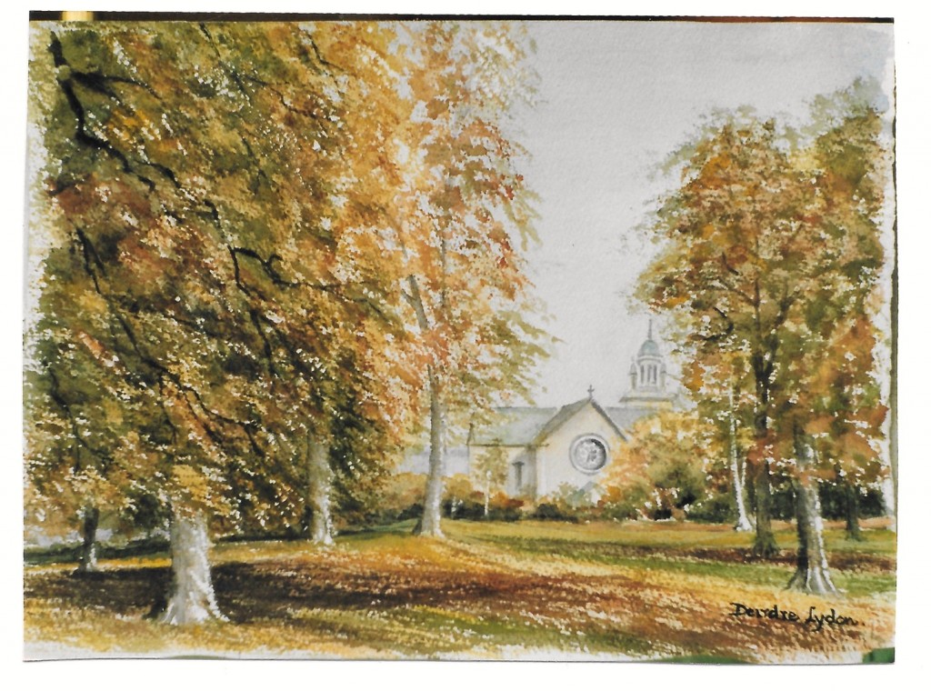 Painting by Deirdre Lydon, Sycamore Road
