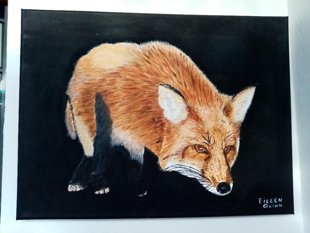 Fox by Eileen Quinn, Deerpark Road