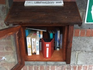 MMRA Seed Swap Album in The Little Library, St Thérèse Church carpark,The Rise