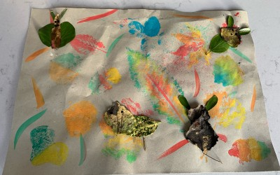 'Colours of the Leaves' by Esme Graham (age 9)
