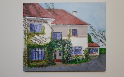 'At home in Mount Merrion' by Deirdre Hickey (65+)