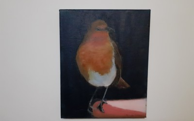 'Robin Redbreast' by Deirdre Hickey (65+)
