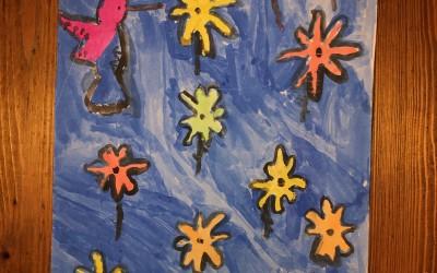 'The Secret Garden' (1) by Grace Hopkins (age 7)