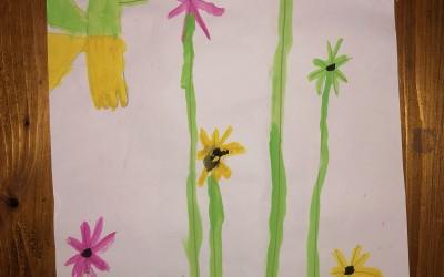 'The Secret Garden' (2) by Grace Hopkins (age 7)