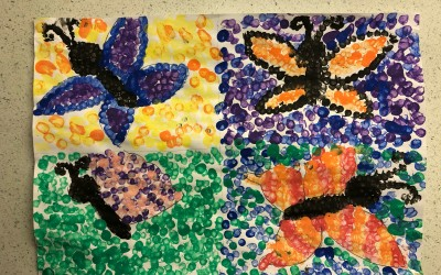 'My Garden Butterflies' by Julia Maguire (Age 10)