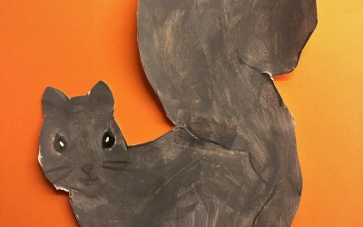 'Our Garden Squirrel' by Julia Maguire (age 10)