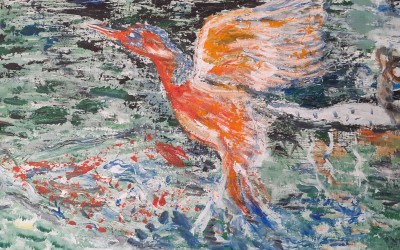 'Bird on the Wing' by Maura Fahey (65+)