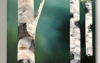'Silver Birches 2' by Niamh Hughes (19-64 yrs)