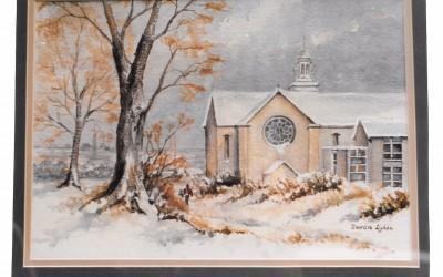 'Winter in Mount Merrion' by Mrs Deirdre Lydon (93 yrs)