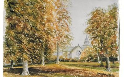 'Autumn in Mount Merrion' by Mrs Deirdre Lydon (93 yrs)
