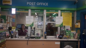 Post Office closes on The Rise