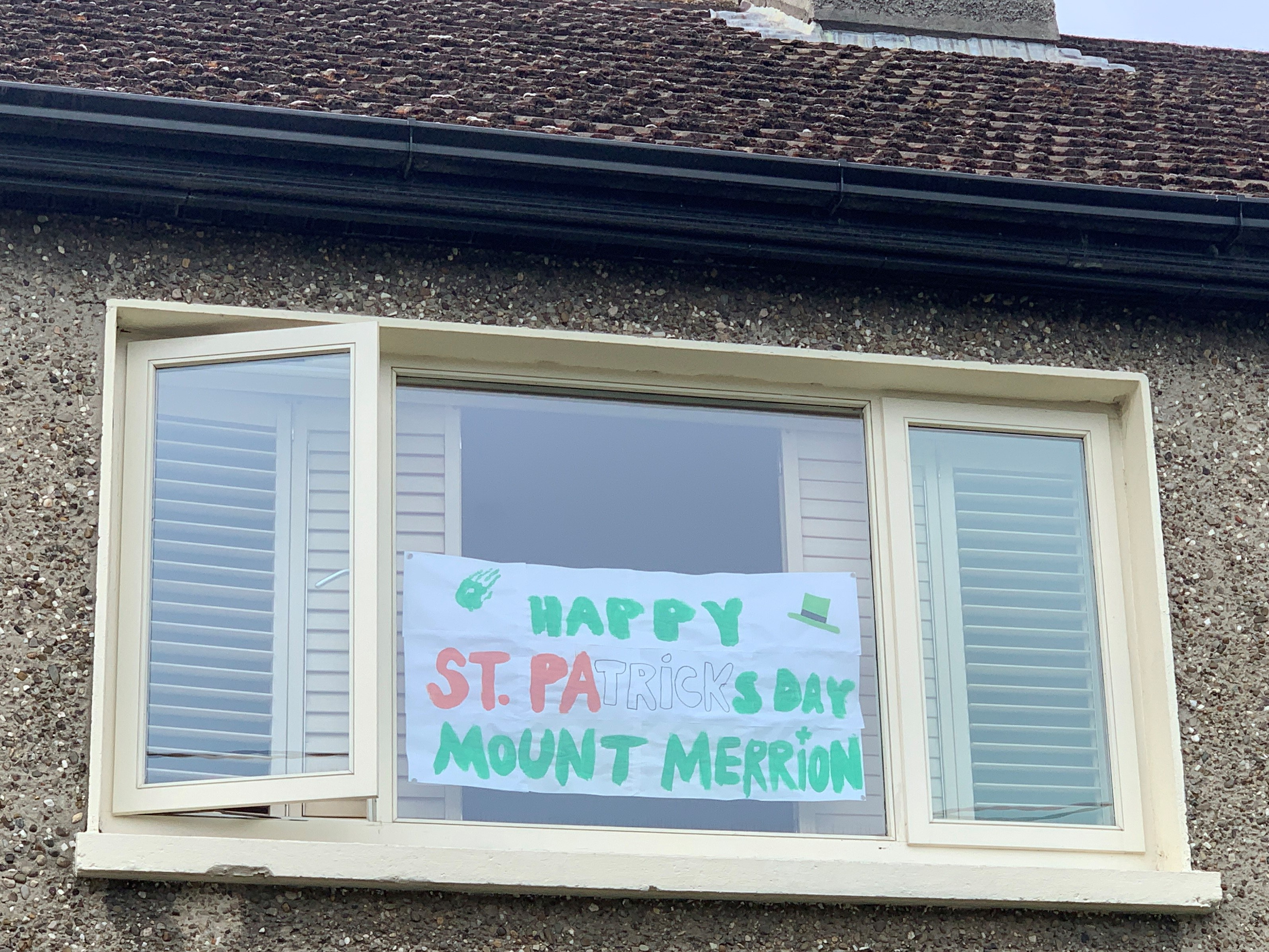 Happy St Patrick's Day Mount Merrion from The Litton Family
