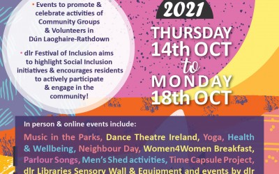dlr Festival of Inclusion: Thurs 14th – Mon 18th October